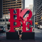 HOPE sign in New York City