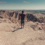Ian Norman at Badlands National Park