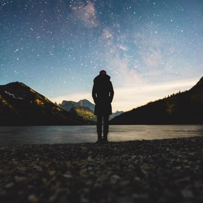 Diana Southern and the Milky Way at Waterton Lakes National Park