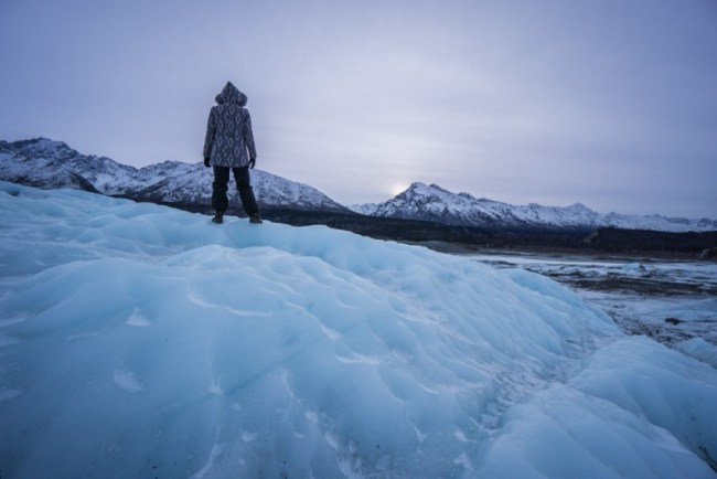 Things to Do in Alaska: Walk on Matanuska Glacier