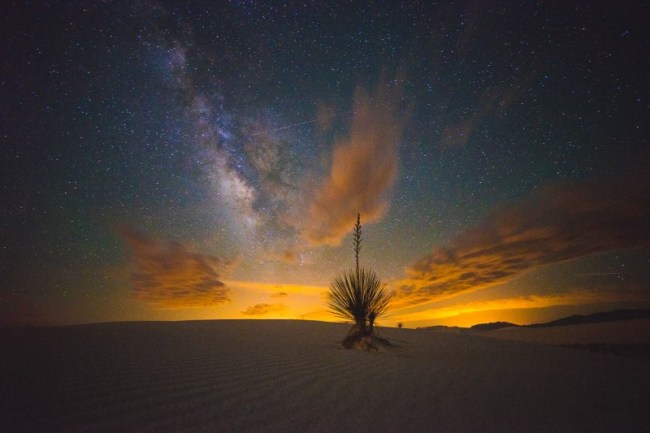 Milky Way at White Sands National Monument, New Mexico