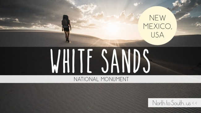 The Magical Landscape of White Sands National Monument, New Mexico, USA