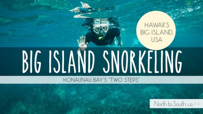 Snorkeling at 'Two Steps' in Honaunau Bay, Hawaii's Big Island