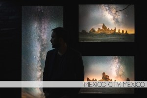 Ian Norman's Milky Way photography on display at Dolcenero art gallery in Mexico City