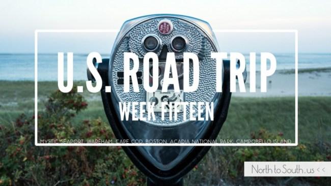 North to South U.S. road trip recap week fifteen