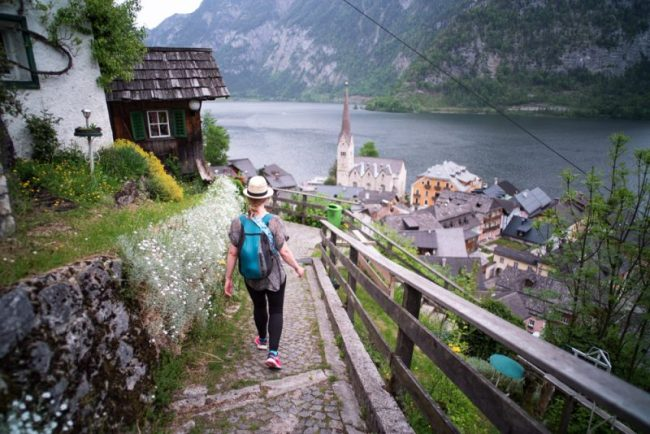 Sea to Summit Ultrasil Packable Daypack Review | Photo: Hallstatt, Austria