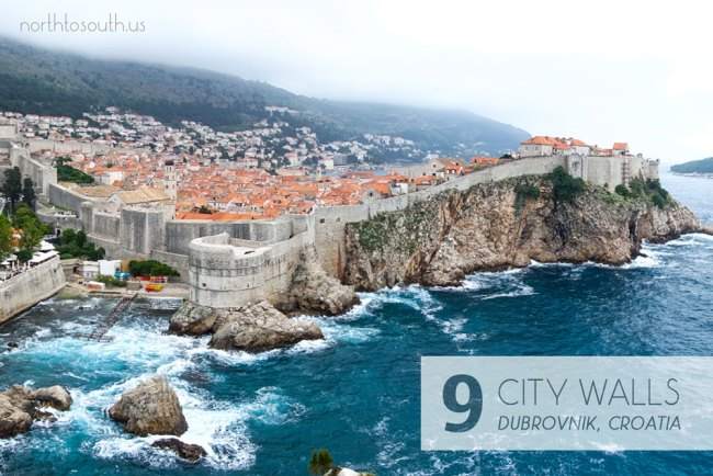 Taking the Stairs: 10 Breathtaking Viewpoints to Hike to in Europe: City Walls and Fortress (Dubrovnik, Croatia)