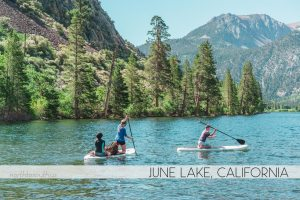 Silver Lake Campground, June Lake, California