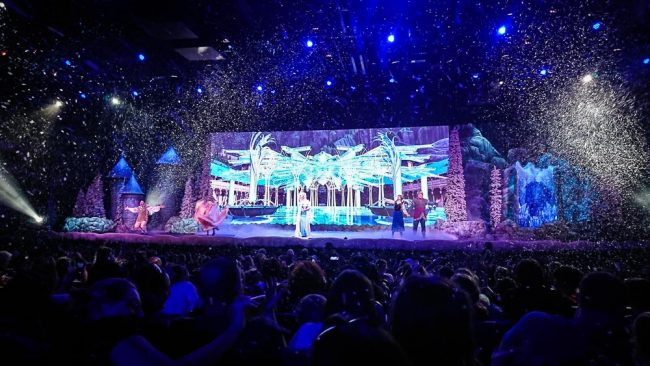 Frozen show at Disney's Hollywood Studios