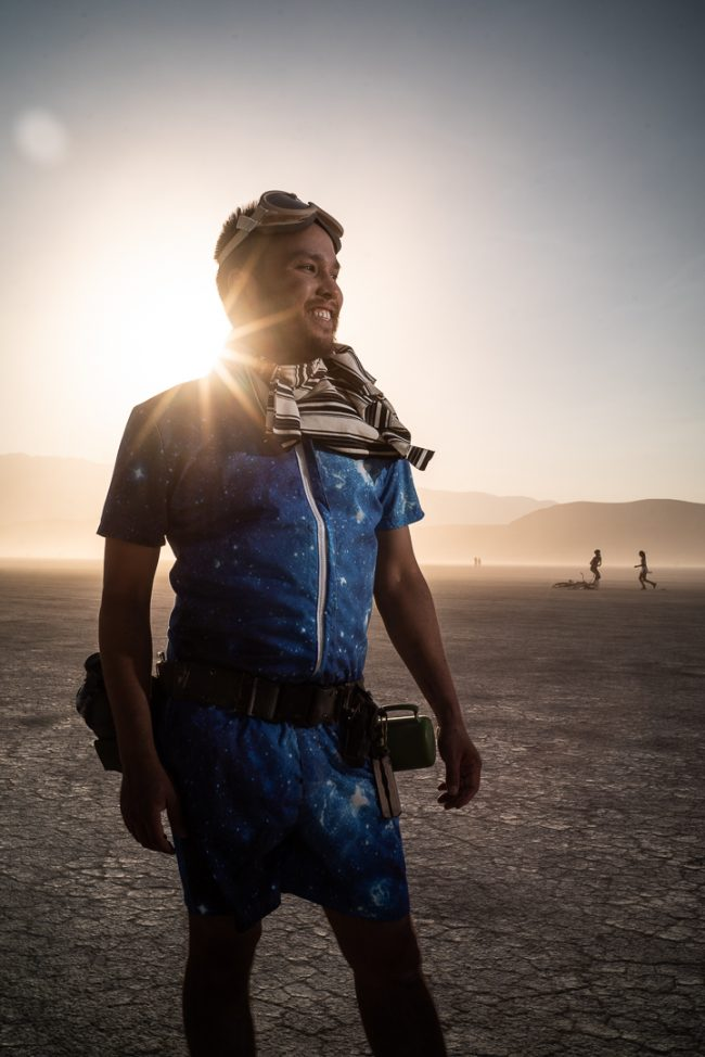 Burning Man 2018 Portraits by Ian Norman and Diana Southern