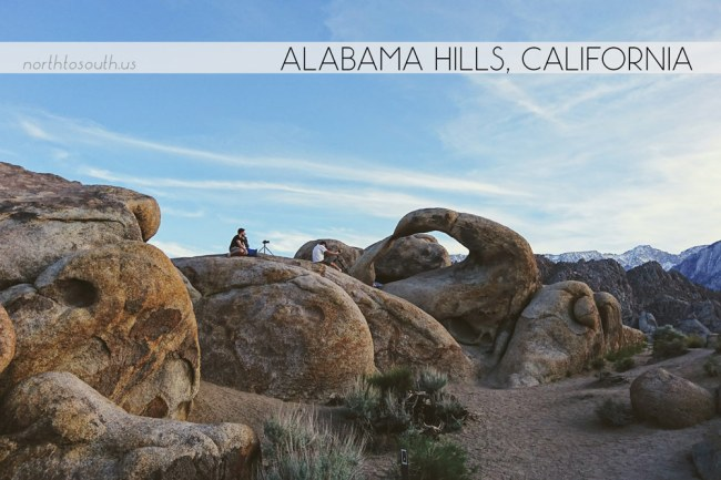 Alabama Hills, California