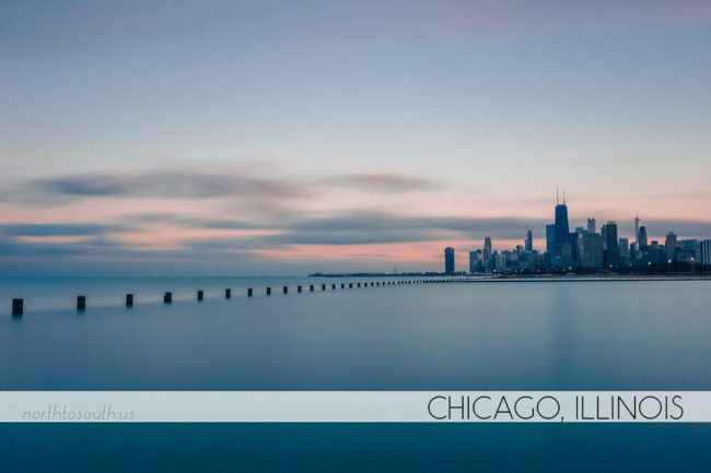 Chicago long exposure