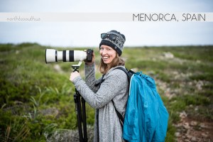 Diana and her new telephoto lens