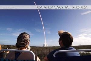 Falcon Heavy Launch, Cape Canvaeral, Florida