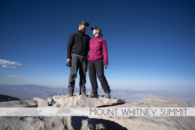 Diana Southern and Ian Norman at Mount Whitney Summit