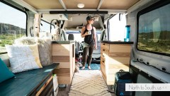Ford Transit Campervan tour on North to South
