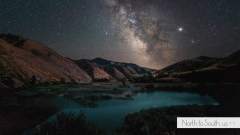 Milky Way in Little Salmon River, Idaho | North to South's VanLife Chronicles by Diana Southern