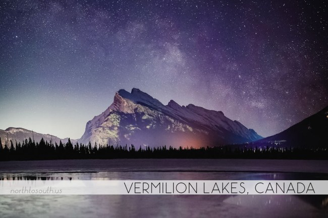 North to South's Year in Review 2019 | Vermillion Lakes, Banff, Canada