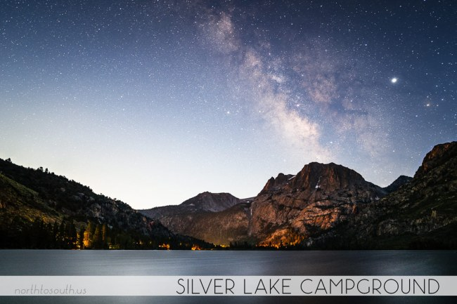 North to South's Year in Review 2019 | Milky Way Moonrise at Silver Lake Campground, June Lake, California