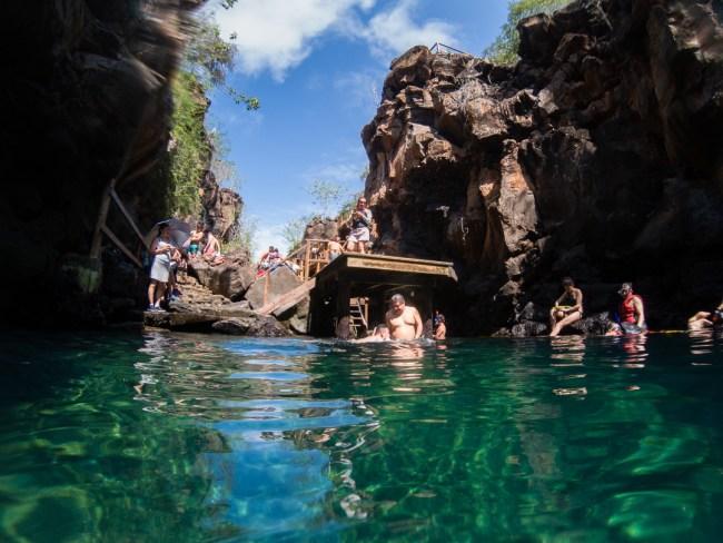 Las Grietas snorkeling area, Isla Santa Cruz, Galápagos Islands