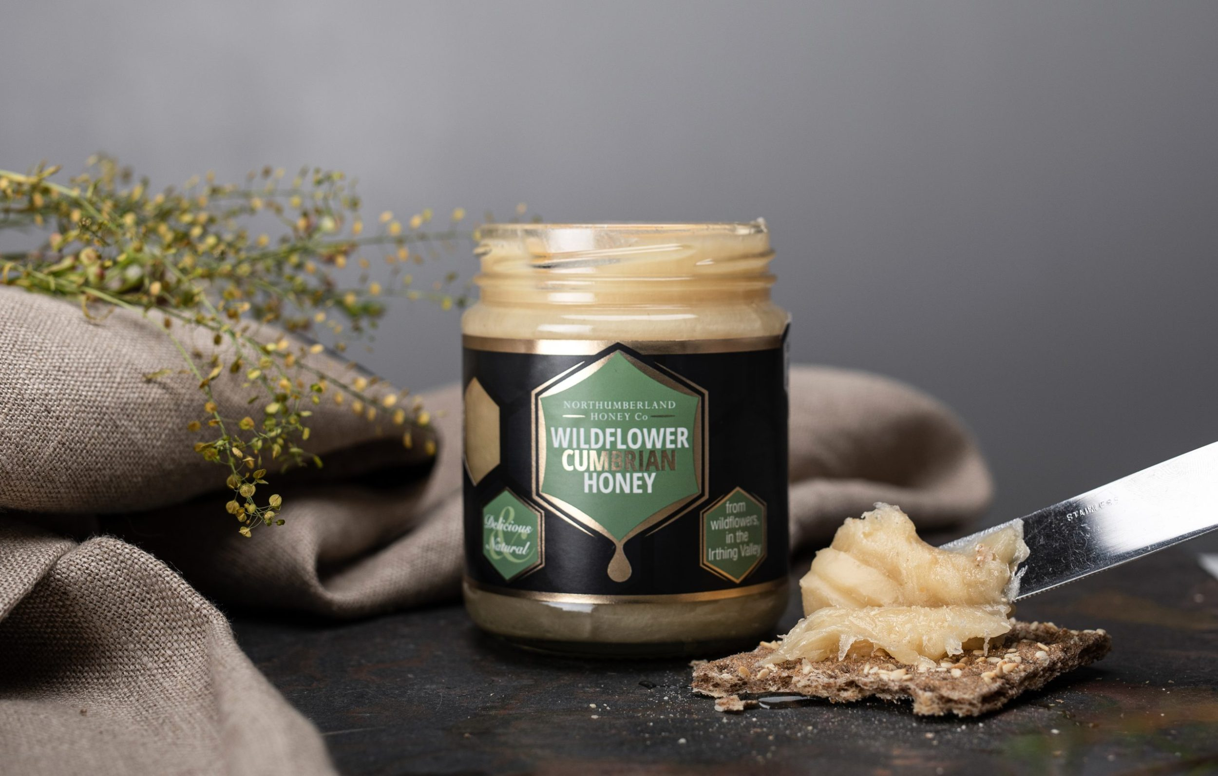 Hadrian Wall Honey Cumbrian Honey | Northumberland Honey
