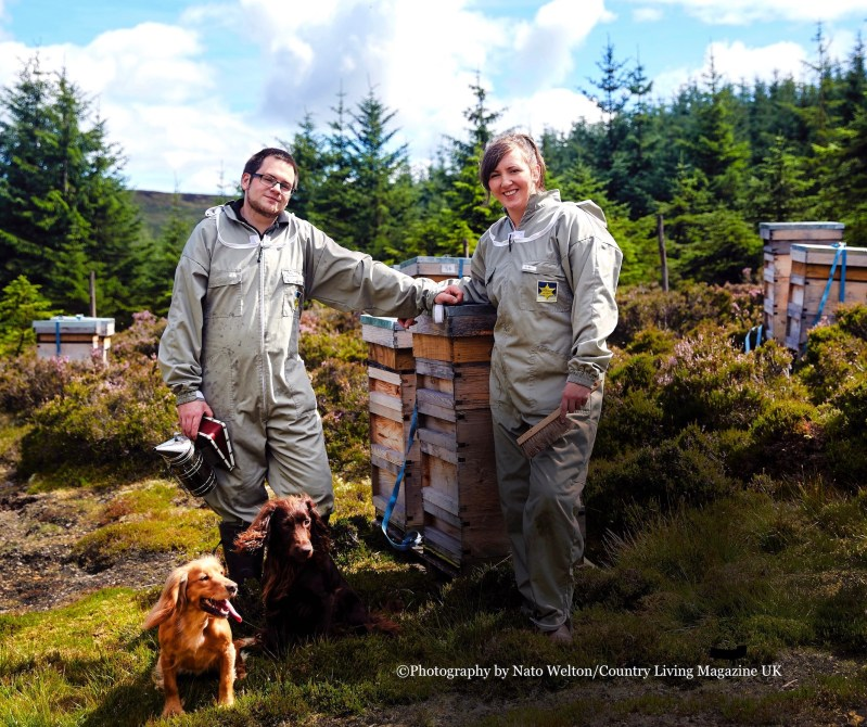 Luke and Suzie Northumberland Honey Co