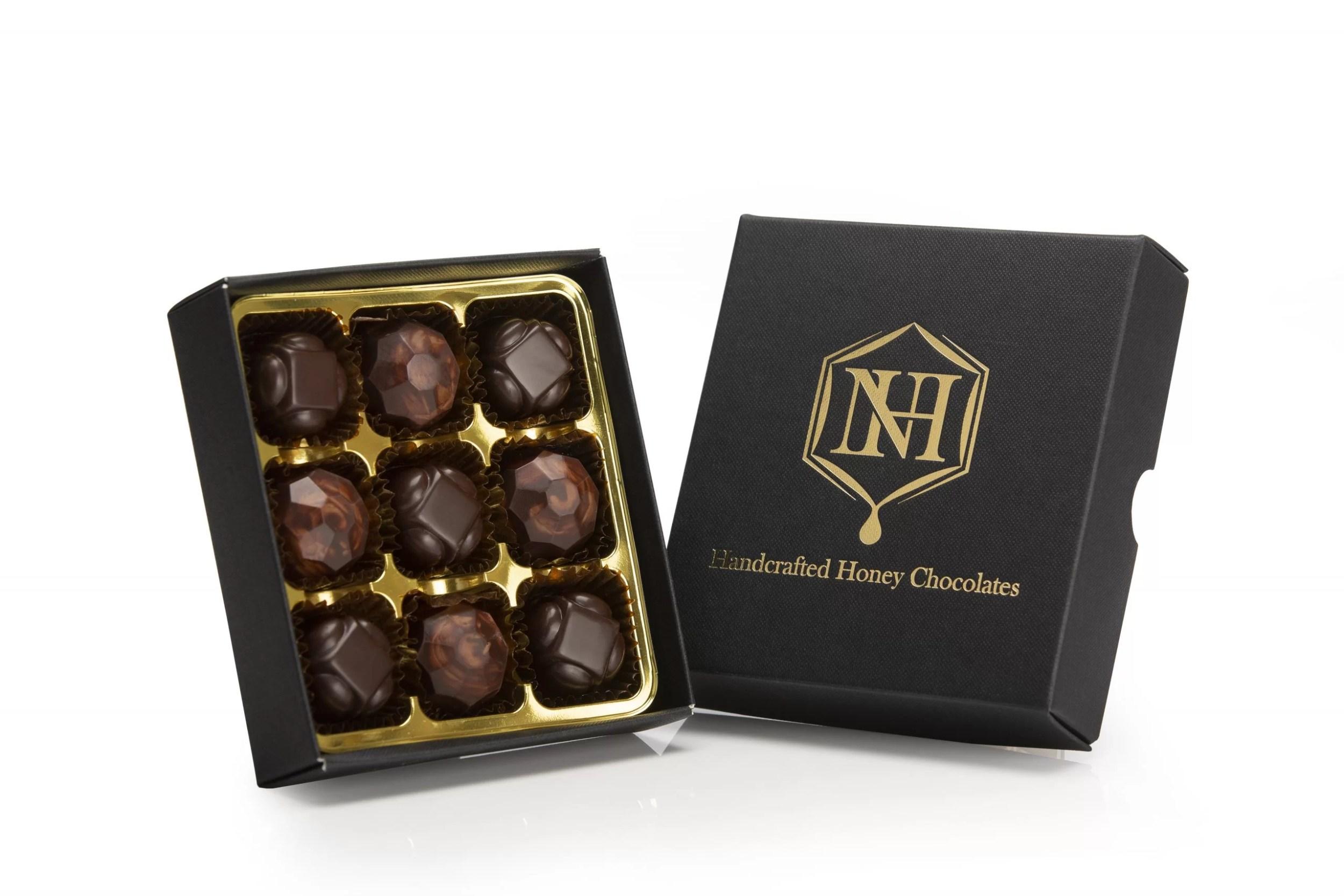 Honey chocolate truffles | Honey chocolates