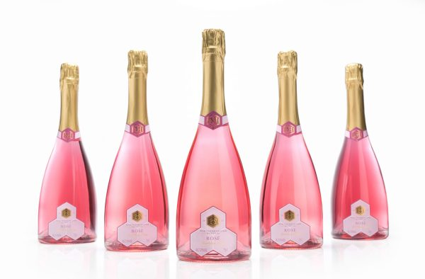 Rose Sparkling Mead Case of 6 Bottles