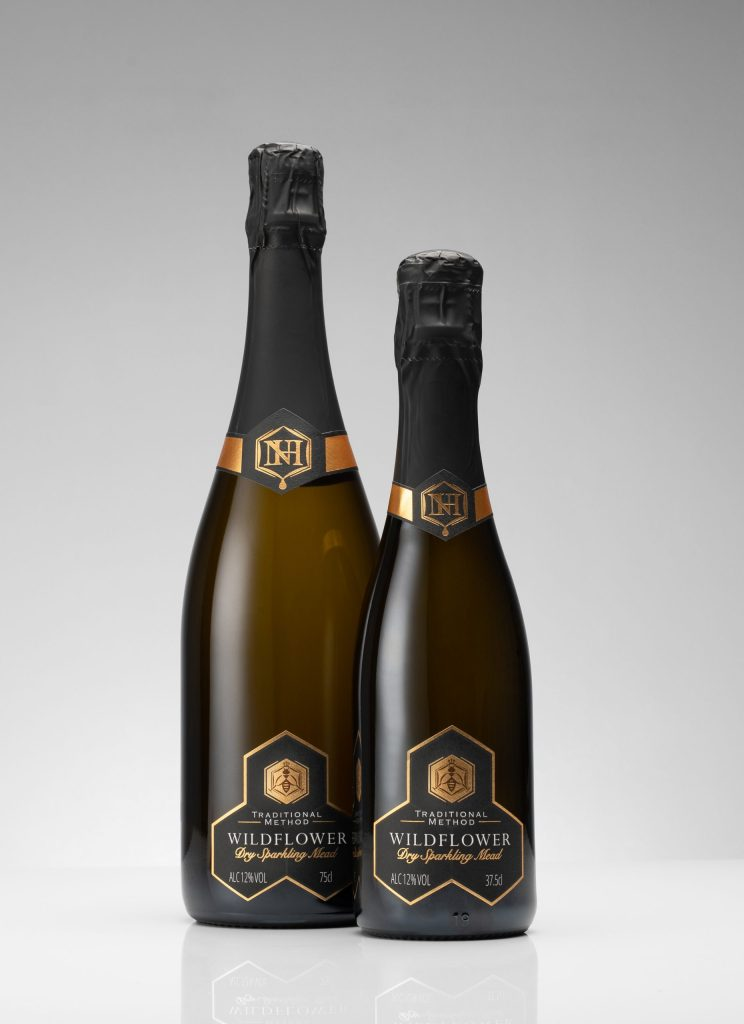 Small Bottles of Mead | Wildflower Sparkling 75cl and 37.5cl