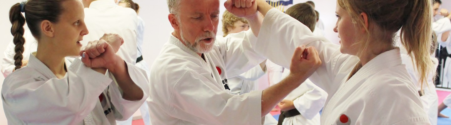 Sensei Mike Doherty of North Vancouver Shikokan Karate
