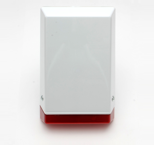 RISCO Nova 2 white cover with red lens - GT22551