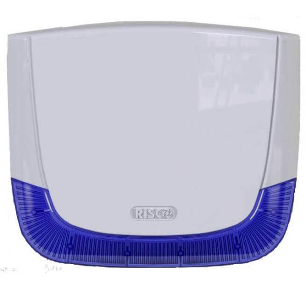 Risco LuMIN8 white cover with blue lens - RS401CB0000A - Northwest Security