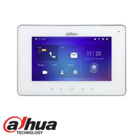 INDOOR 7″ TOUCH SCREEN LCD MONITOR WHITE