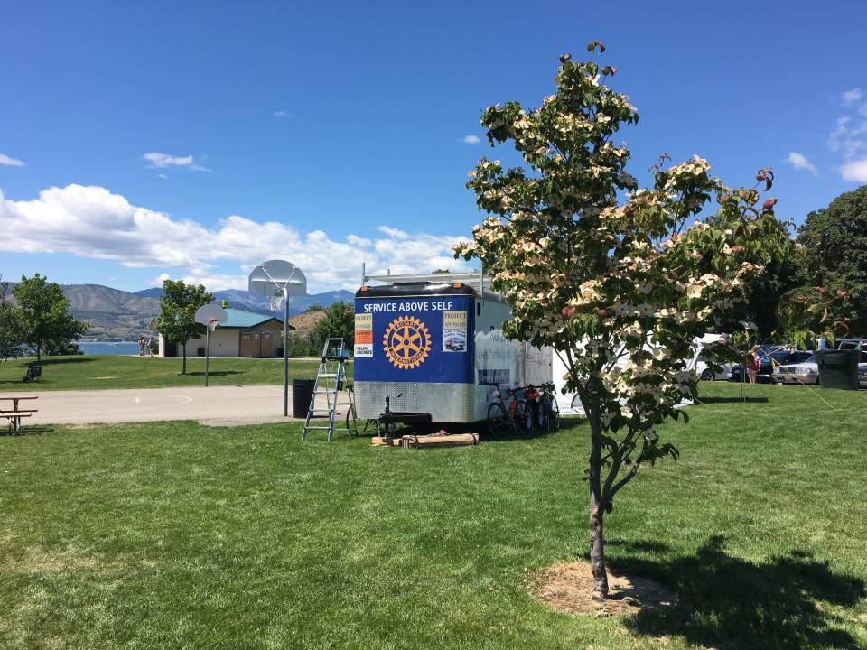 """Service above Self:"" The Chelan Rotary does an excellent job of organizing and supporting the ride."