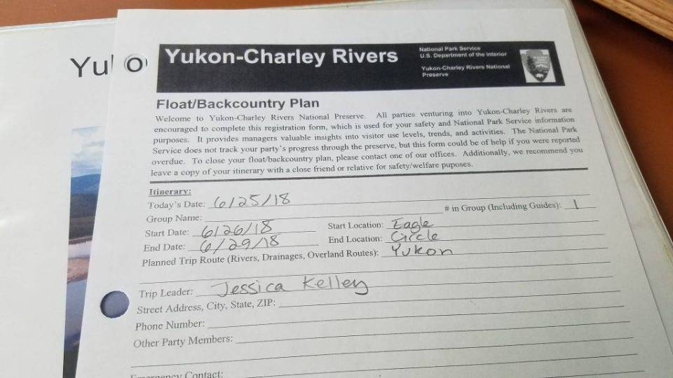The Yukon backcountry rangers had a hard time believing her plan.