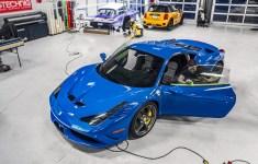 Azzurro-Dino-Ferrari-458-Speciale-prestige-photosync-window-tint-nw-s