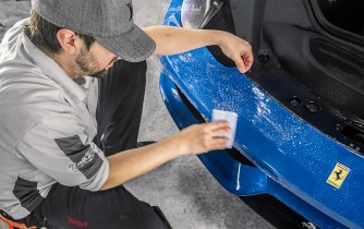 Azzurro-Dino-Ferrari-458-Speciale-XPEL-Ultimate-paint-protection-seattle