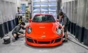 Porsche-Lava-Orange-991-911-C4-GTS-new-car-detail-hand-wash-car-wash