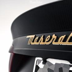 Maserati-Gran-Turismo-MC-SportLine-XPEL-STEALTH-Satin-Gold-custom-script-badge