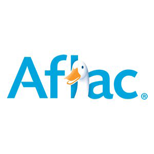 Aflac logo with link