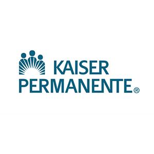 Kaiser Permanente logo with link.