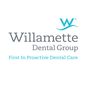 Willamette Dental Group logo with link