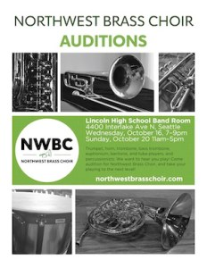 NWBC 2019 Audition Flyer