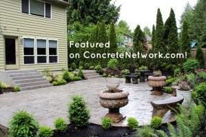 concrete patio silverdale