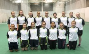 Irish_Girls_U15_2017 North West Cricket