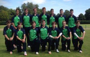 Under 15 Ireland North West cricket