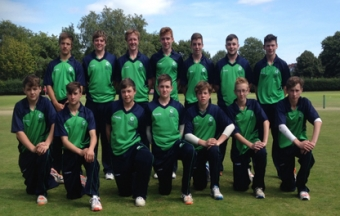 Under 15 Ireland North West cricket