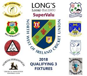 2018 Fixtures Qualifying 3