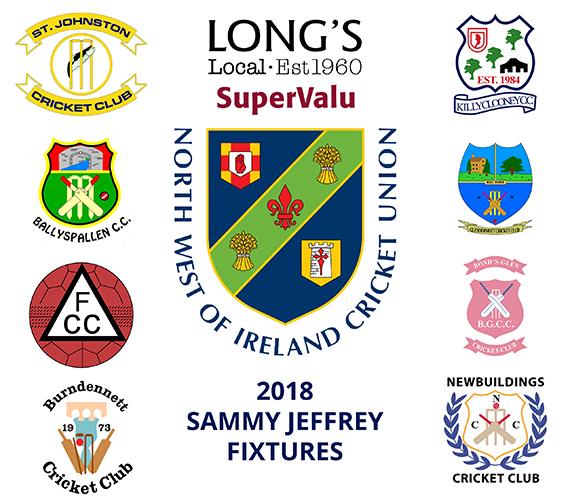 2018 Fixtures Sammy Jeffrey