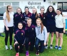 Eglinton Ladies Cricket Club Team may 2018